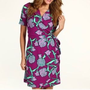 Lilly Pulitzer Pocket Full Of Posies Wrap Dress.